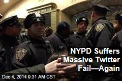 NYPD Suffers Massive Twitter Fail—Again