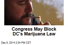 Congress May Block DC's Marijuana Law