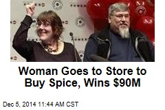 Woman Goes to Store to Buy Spice, Wins $90M