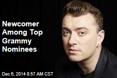 Newcomer Among Top Grammy Nominees