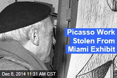 Picasso Work Stolen From Miami Exhibit