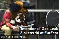 'Intentional' Gas Leak Sickens 19 at Furry Convention