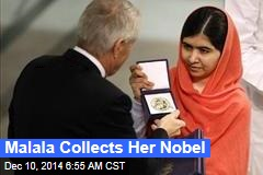 Malala Collects Her Nobel