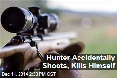 Hunter Accidentally Shoots, Kills Himself