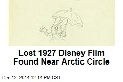 Lost 1927 Disney Film Found Near Arctic Circle