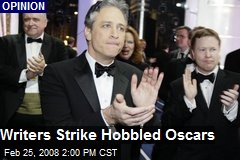 Writers Strike Hobbled Oscars