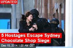Australia Confirms Chocolate Shop Hostage Situation