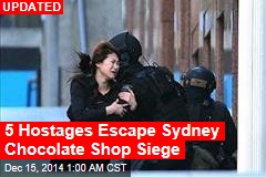 Australia Confirms Chocolate Shop Hostage Situation