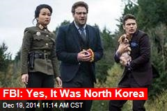 FBI: Yes, It Was North Korea