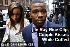 In Ray Rice Clip, Couple Kisses While Cuffed