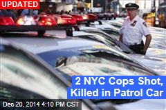 2 NYC Cops Shot in Car; One Dead