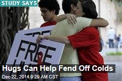Hugs Can Help Fend Off Colds