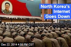 North Korea's Internet Goes Down