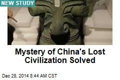 Mystery of China's Lost Civilization Solved