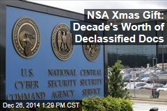 NSA Xmas Gift: Decade's Worth of Declassified Docs