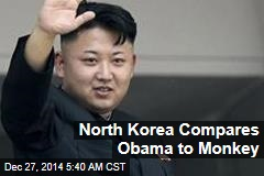 North Korea Compares Obama to Monkey
