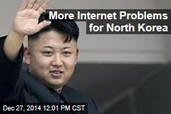 More Internet Problems For North Korea