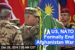US, NATO Formally End Afghanistan War