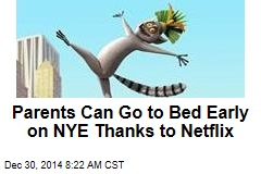 Parents Can Go to Bed Early on NYE Thanks to Netflix