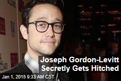 Joseph Gordon-Levitt Secretly Gets Hitched