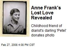 Peter Schiff Anne Frank