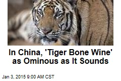 In China, 'Tiger Bone Wine' as Ominous as It Sounds