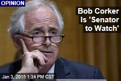 Bob Corker Is 'Senator to Watch'