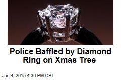 Police Baffled by Diamond Ring on Xmas Tree