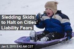 Sledding Skids to Halt on Cities' Liability Fears