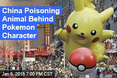 China Poisoning Animal That Inspired Pokemon