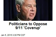 Politicians to Speak Out Against 9/11 'Coverup'