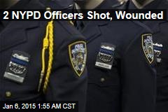 2 NYPD Officers Shot, Wounded