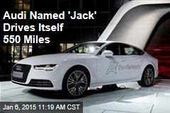 Audi A7 Drives Itself 550 Miles