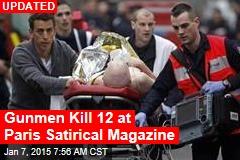 Gunmen Kill 11 at Paris Satirical Magazine