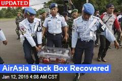 AirAsia Black Box Recovered