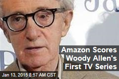 Amazon Scores Woody Allen's First TV Series
