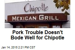 Pork Trouble Doesn't Bode Well for Chipotle