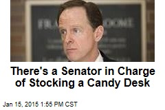 There's a Senator in Charge of Stocking a Candy Desk