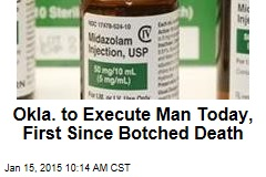 Okla. to Execute Man Today, 1st Since Botched Death