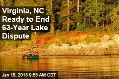 Virginia, NC Ready to End 63-Year Lake Dispute