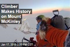 Climber Makes History on Mount McKinley