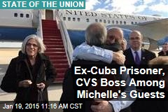 Ex-Cuba Prisoner, CVS Boss Among Michelle's Guests
