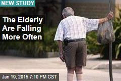 The Elderly Are Falling More Often
