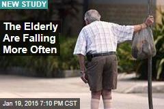 The Elderly Are Falling More Often