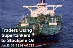 Traders Stockpiling Cheap Oil Offshore