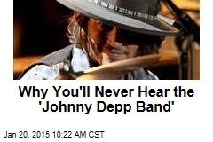Why You'll Never Hear the 'Johnny Depp Band'