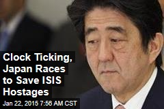 Clock Ticking, Japan Races to Save ISIS Hostages