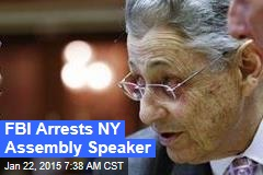 FBI Arrests NY Assembly Speaker