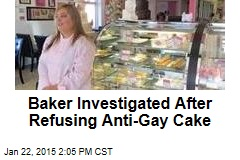 Baker Investigated After Refusing Anti-Gay Cake