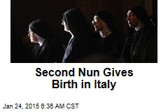 Second Nun Gives Birth in Italy